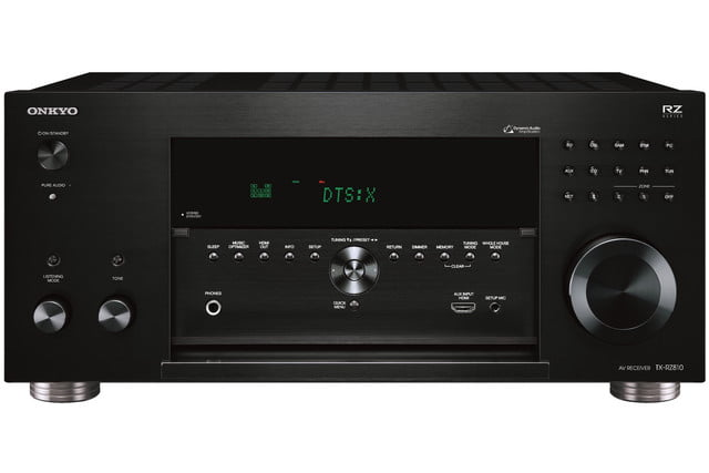 onkyo unveils three new rz series av receivers tx rz810 front