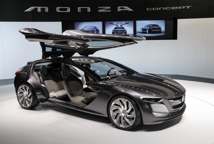 Opel Monza Concept Pushes In Car Connectivity 2013 Frankfurt Motor