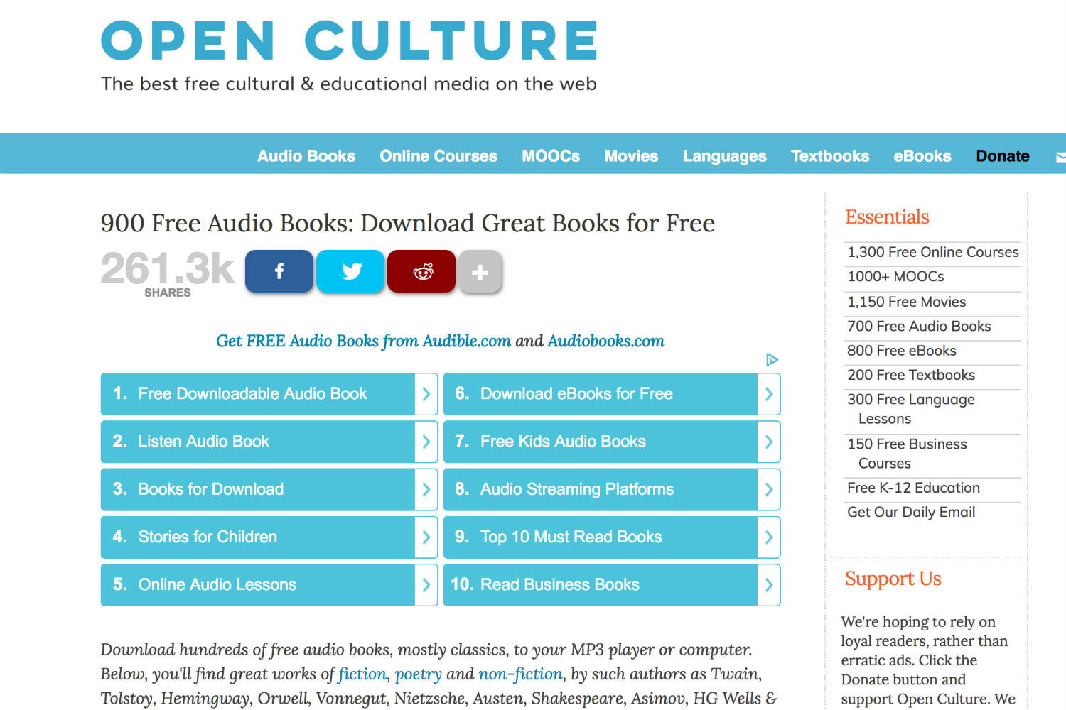 where to download free audio books reddit