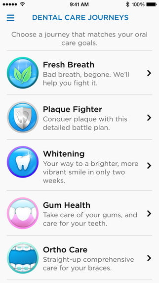 oral b genius toothbrush location tracking technology app ios 003