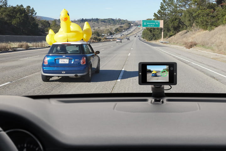 owl car cam inflatable duck