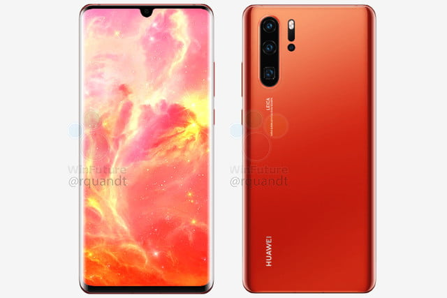 huawei p30 pro news in red