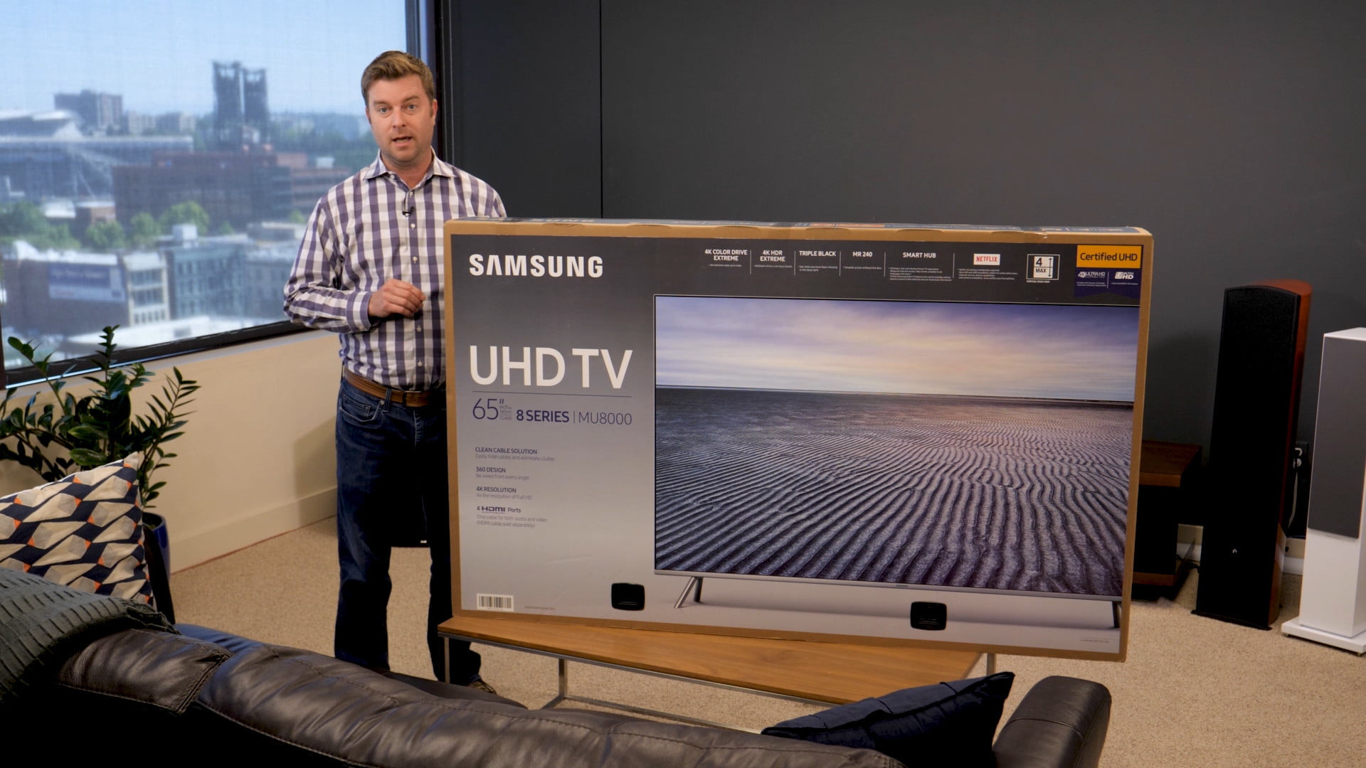 Our Samsung Mu8000 Unboxing And Setup Guide Gets You Ready