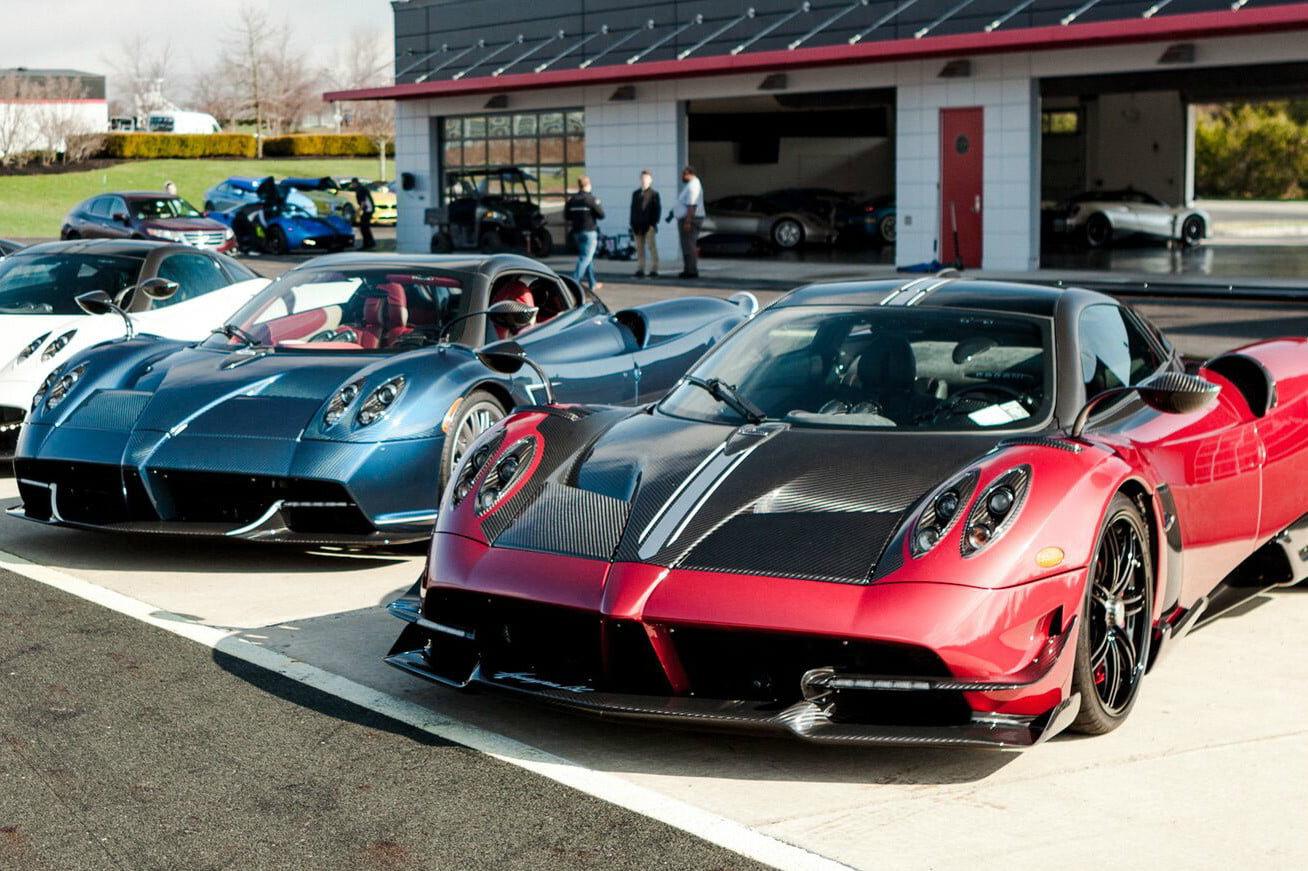 pagani's huayra roadster is the most expensive new car lease in