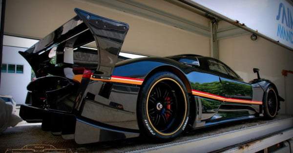 act fast four of the five pagani zonda r evolutions to be