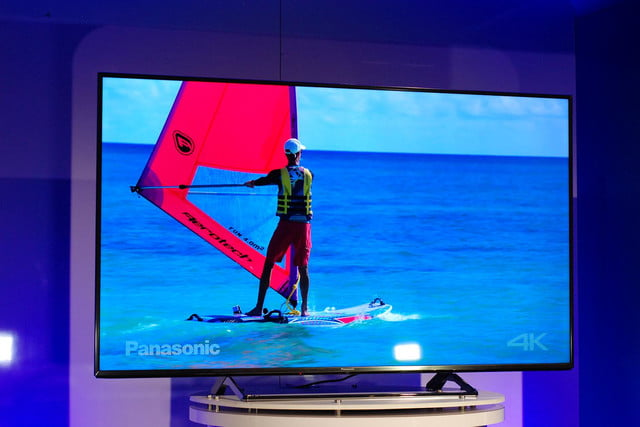 panasonic cx850 4k uhd tv at ces 2015 video 8