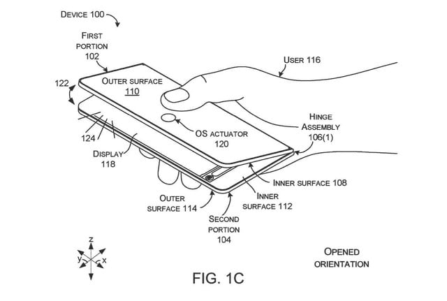Microsoft patent hints at new ways to interact with dual-screen Surface tablet
