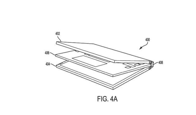 dell laptop two detachable displays patent 4