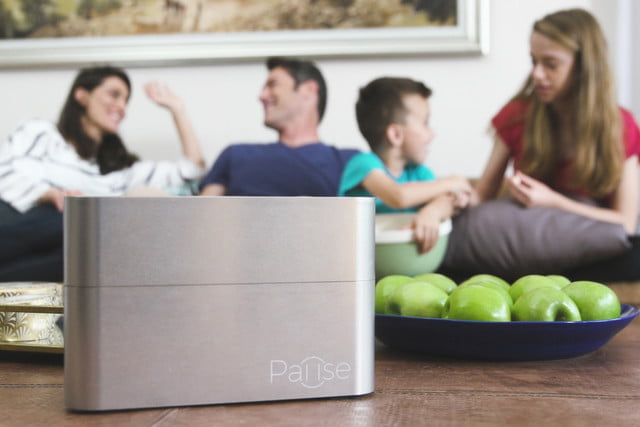 pause container blocks cell phone signals family