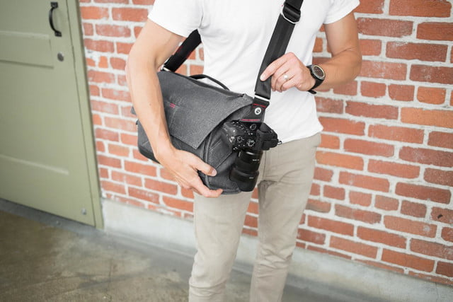 this photography bag suits your everyday needs with or without a camera peak design messenger 15