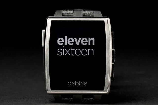Pebble Steel Watch front screen 6