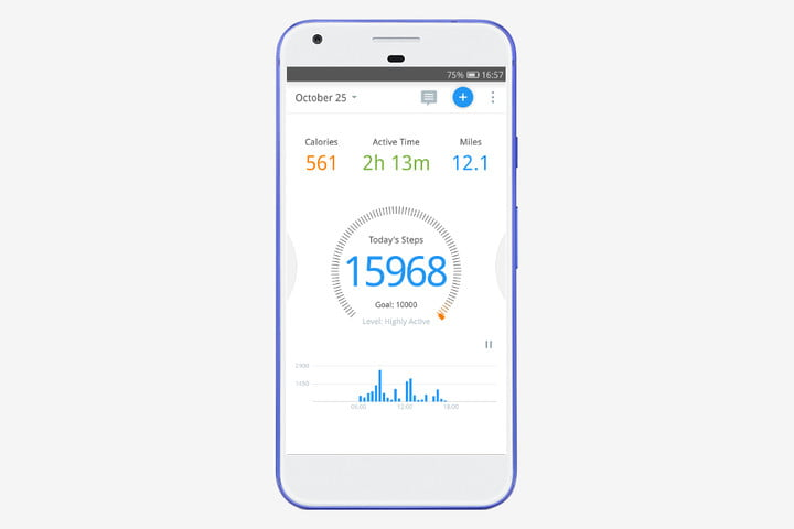 Pedometer Android fitness app