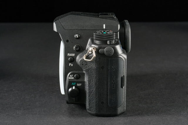 Pentax K3 review right side ports