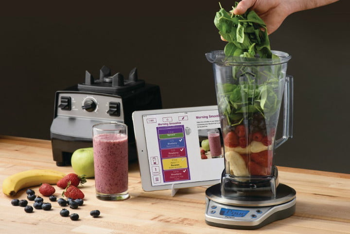 Perfect blend app from vitamix gives you healthy recipes digital vitamix perfect blend scale forumfinder Images