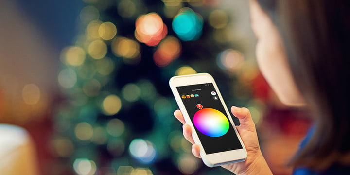 philips hue needs smart holiday lights app example feat