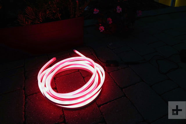Philips Hue Lighstrip Outdoor coiled red