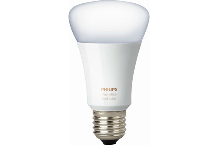 best buy black friday early deals philips  hue white and color ambiance a19 wi fi smart led bulb ca only multicolor