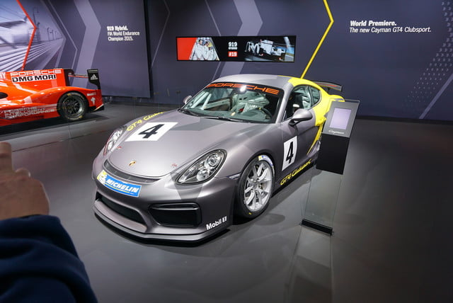137eafc85638 Bred for the track  Porsche s Cayman GT4 Clubsport bows in LA