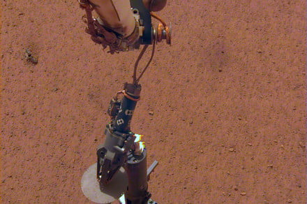 InSight has placed its heat probe, will dig 16 feet beneath the surface of Mars