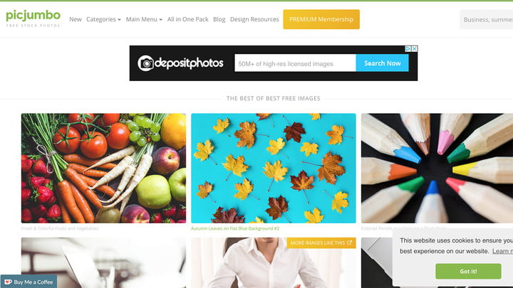 where to download public domain images picjumbo