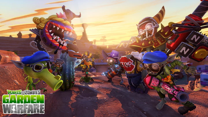 Plants Vs Zombies Garden Warfare Coming Playstation August Ps4 Awesome Design