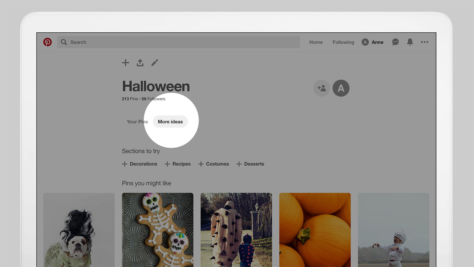 Halloween Decorations Ideas 2020 Pinterest New Pinterest Tab Makes Suggestions For Your Boards   Digital Trends