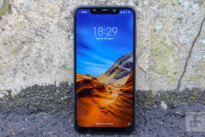 pocophone f1 by xiaomi front