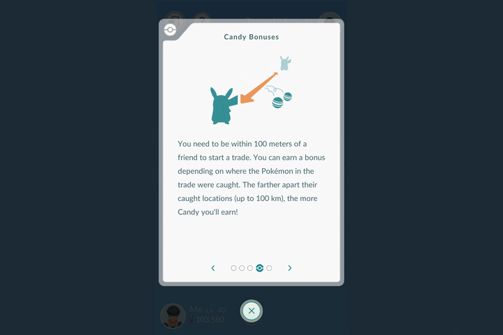 pokemon go update candy bonus
