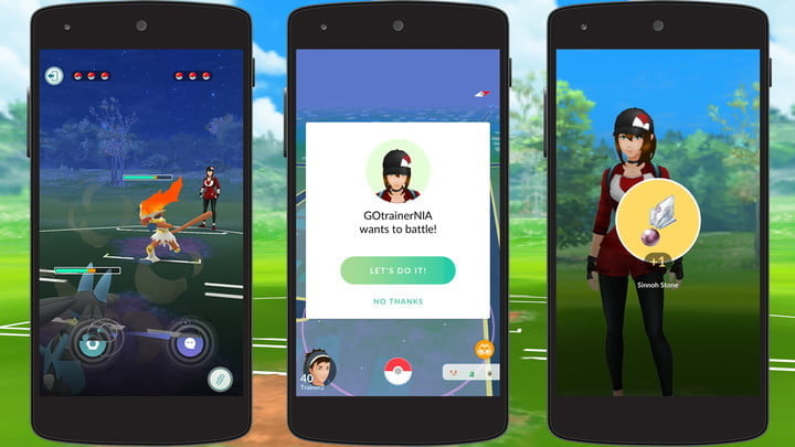 pokemon go pvp and trainer battles preview feature