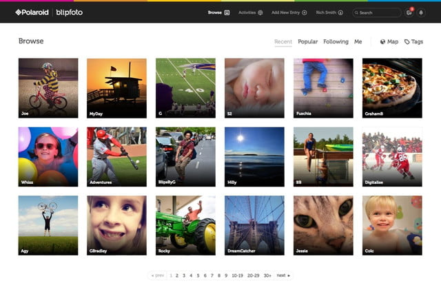 polaroid rebrands re launches blipfoto one photo day social network 4