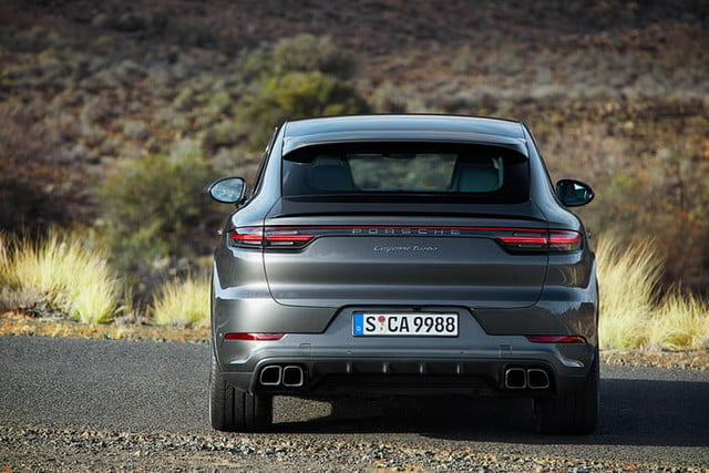 the 2020 porsche cayenne coupe is all about style 10