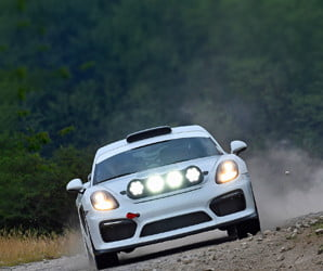 Porsche goes rallying, and it's not with the model you're thinking of