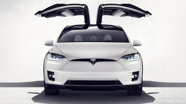 Tesla's Model X SUV officially launches