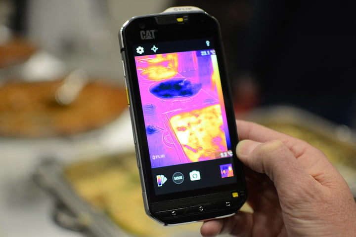 Cat S60 Brings Thermal Imaging to Your Smartphone | Digital Trends