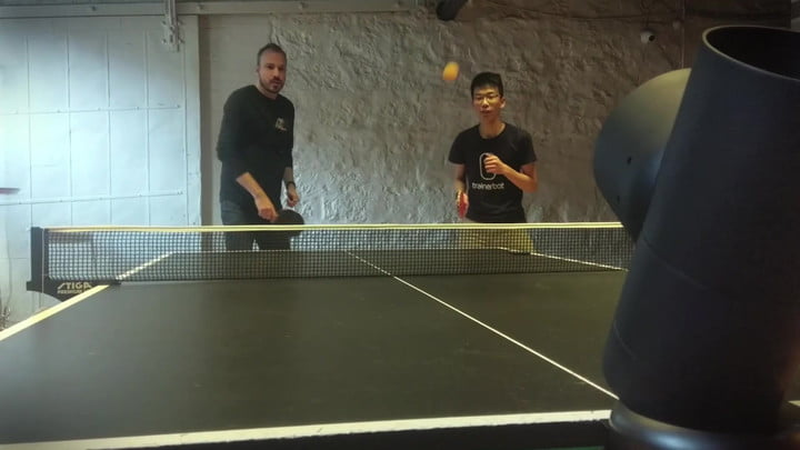 Trainerbot may be the ping pong and table tennis coach you always wanted