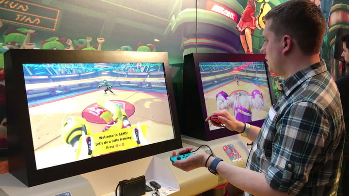 'Arms' on Nintendo Switch – First impressions