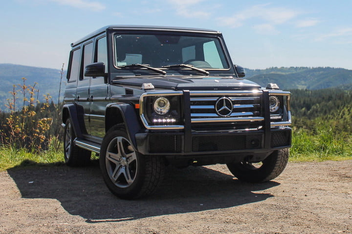 2017 Mercedes-Benz G550 Review