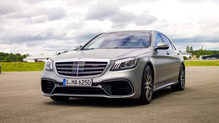 2018 mercedes amg s 63 4matic first drive review digital trends. Black Bedroom Furniture Sets. Home Design Ideas