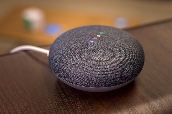 Google Home Mini Review Smarter But Not Better Sounding Digital