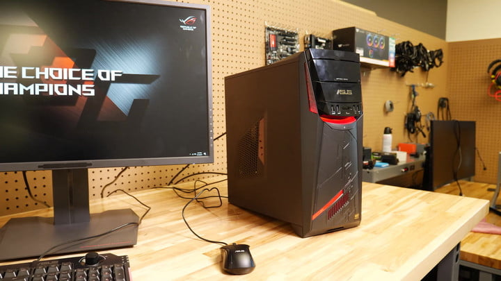 Asus G11DF Gaming Desktop Review