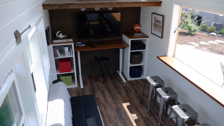 Tiny Homes Evolve Into High-Tech, Tricked Out Spaces