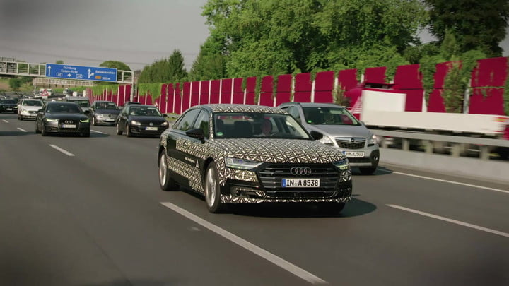 The Level 3 Audi A8: Autonomous Driving Is Here (Almost)
