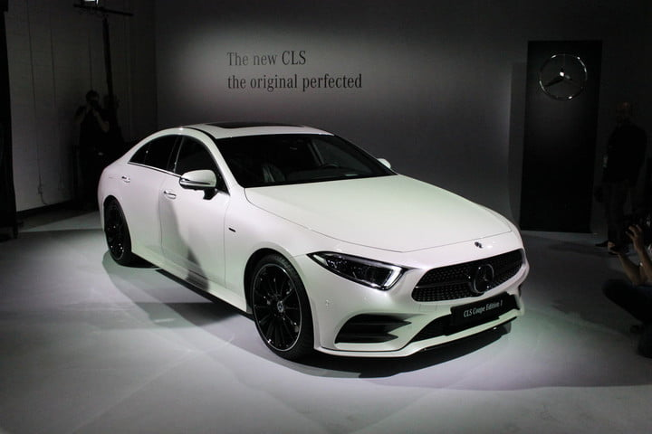 MercedesBenz CLS News Specs Pictures Performance - Mercedes benz car show