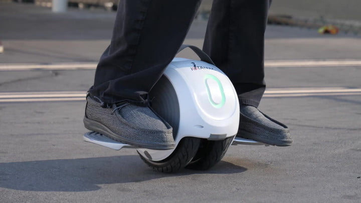 The inventor of the Hoverboard just unveiled an amazing new rideable gizmo