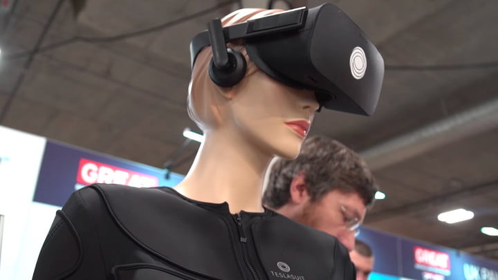 Teslasuit Offers Full Body Haptic Feedback for Virtual Reality