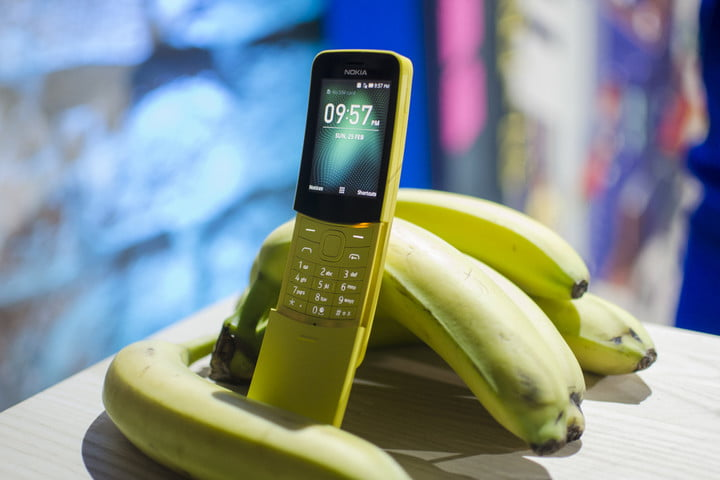 Nokia 8110 4G Feature Phone Hands On