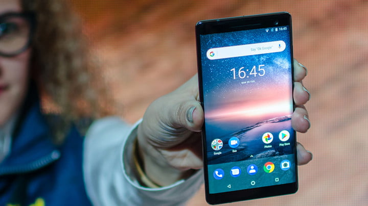 Nokia 8 Sirocco – Hands On at MWC 2018