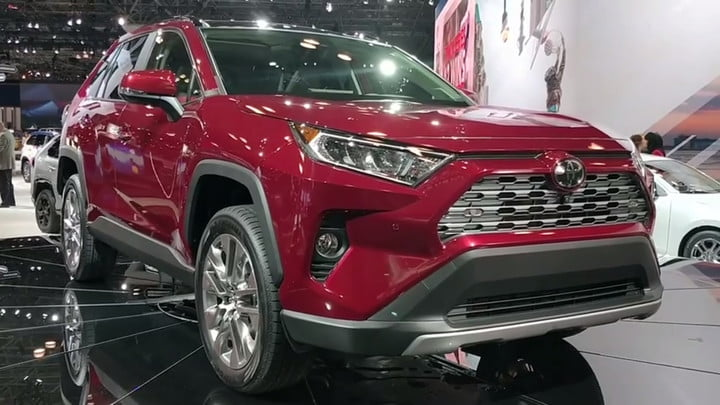 2019 Toyota Rav4 Arrives In New York With More Style Tech Digital Trends