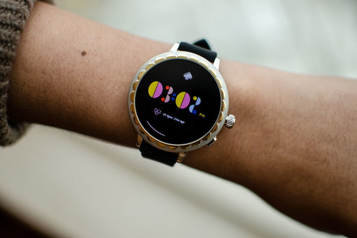 2f319925cf9 Kate Spade Scallop 2 Smartwatch Hands-on Review  CES 2019