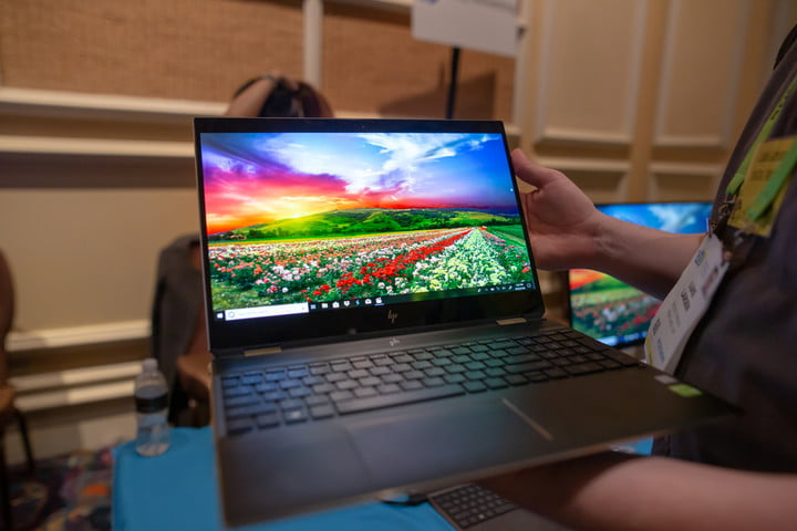 HP Spectre x360 15 AMOLED at CES 2019